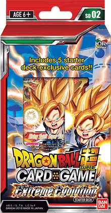 Dragon Ball Super Card Game - Extreme Evolution Starter Deck SD02