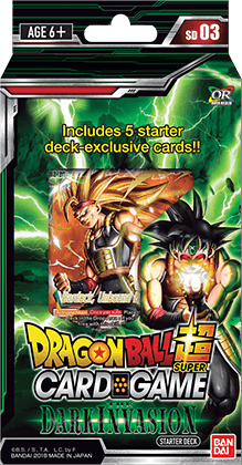 Dragon Ball Super Card Game - Dark Invasion Starter Deck SD03