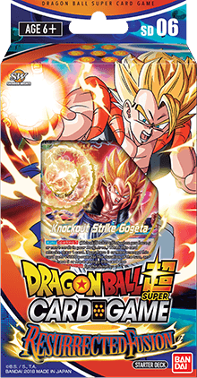 Dragon Ball Super Card Game - Resurrected Fusion Starter Deck SD06