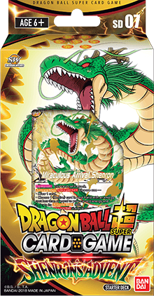 Dragon Ball Super Card Game - Shenron's Advent Starter Deck SD07