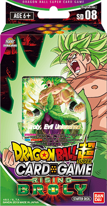 Dragon Ball Super Card Game - Rising Broly Starter Deck SD08