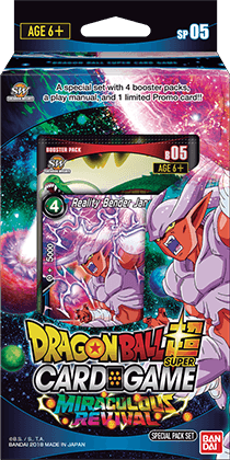 Dragon Ball Super Card Game - Miraculous Revival Special Pack SP05