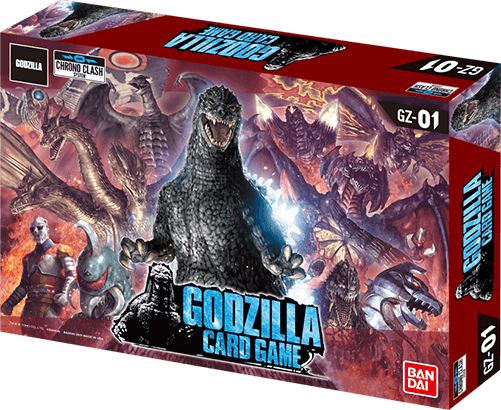 Chrono Clash System - Godzilla Card Game