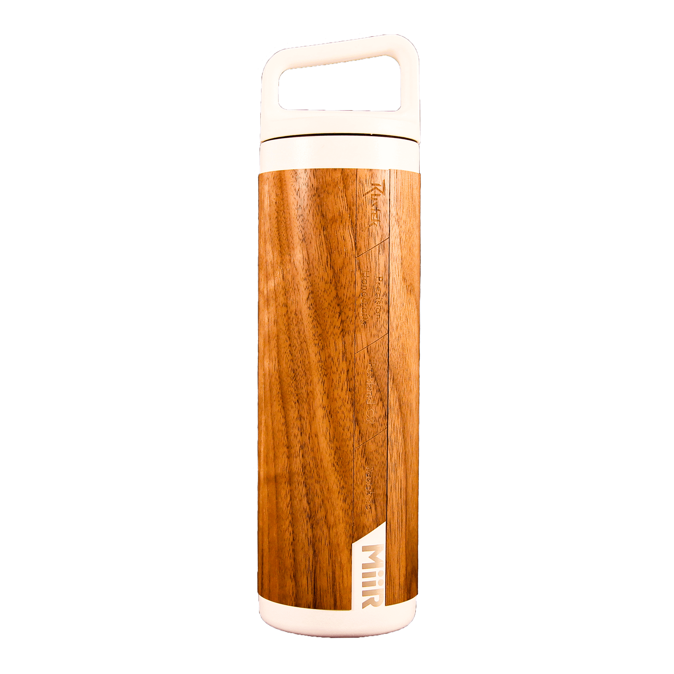 Real Wood Insulated Water Bottle - 20oz