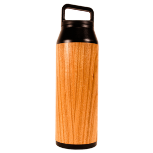 Real Wood Insulated Water Bottle - 42oz