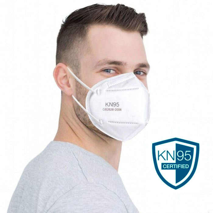 KN95 Disposable PPE Face Masks 10-Pack