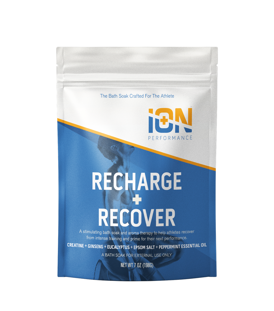 iON Recharge + Recover Creatine Mg Soak Travel Pouches 7 oz - 6 Pack