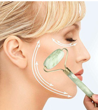 Natural Jade Stone Facial Massager