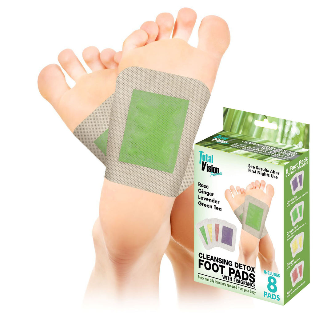 "Detox Foot Pads with Fragrence-8 Pack ""Brad's Deal 50% OFF Discount Automatically Added at Checkout"""
