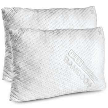 """BRADS DEALS 25% OFF"" REST Premium Blended Memory Foam Queen or King Size Pillow ""Type RESTWELL for Discount Code at Checkout"""