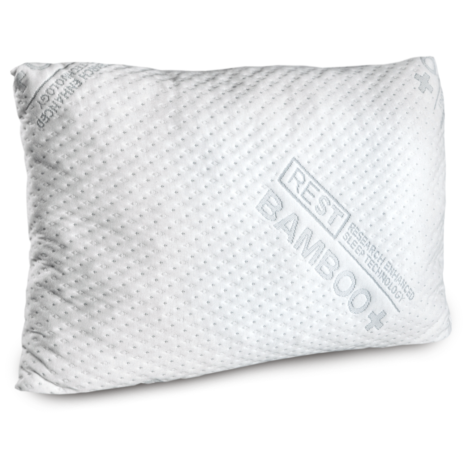 REST Premium Blended Memory Foam Queen Size Pillow