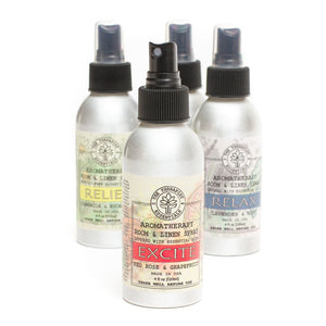 Aromatherapy Linen Spray - Excite Red Rose & Grapefruit