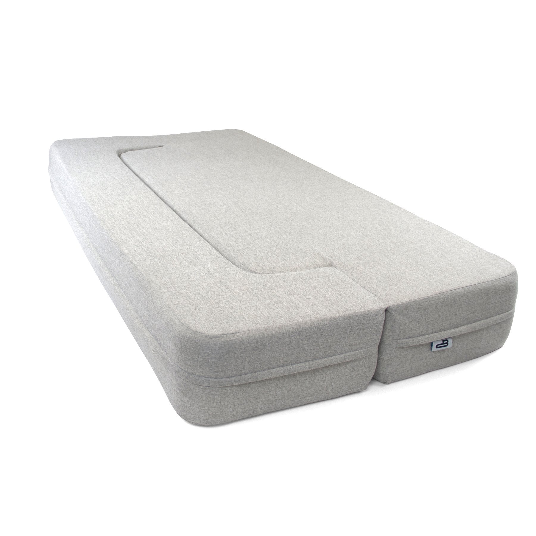 REST Twin Memory Foam CouchBed Lime Stone Color w/ Changable Cover