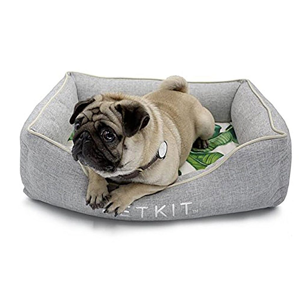 Reversible Cooling Gel and Warming Pet Bed
