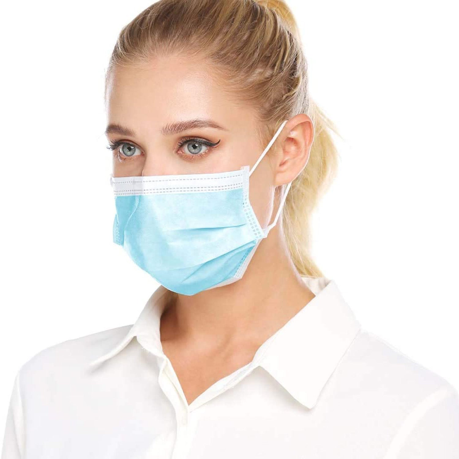 REST Safeguard 3ply Medical Disposable Facemask - 50 & 100 Piece Qty BRADS DEAL 50% DISCOUNT AUTOMATICALLY APPLIED IN CART