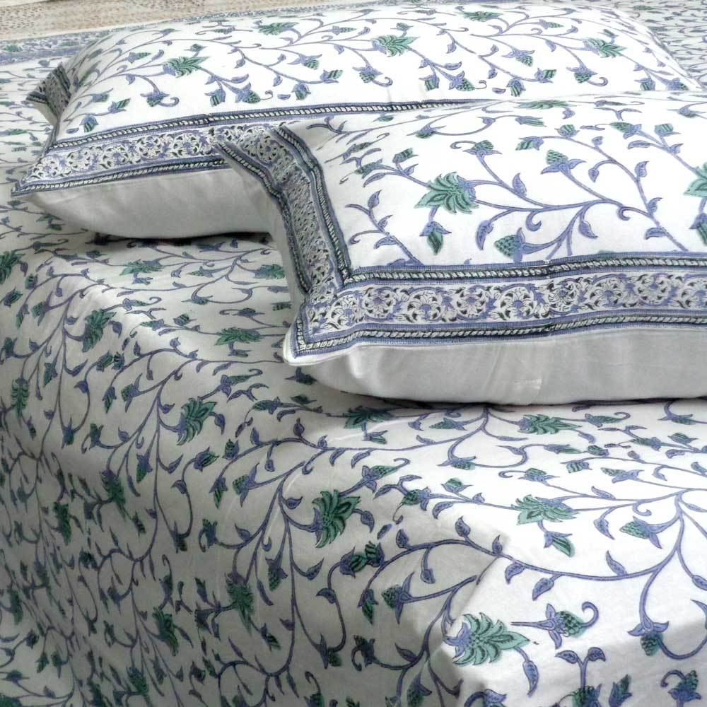 Premium Cotton Coverlet Set - August Vine