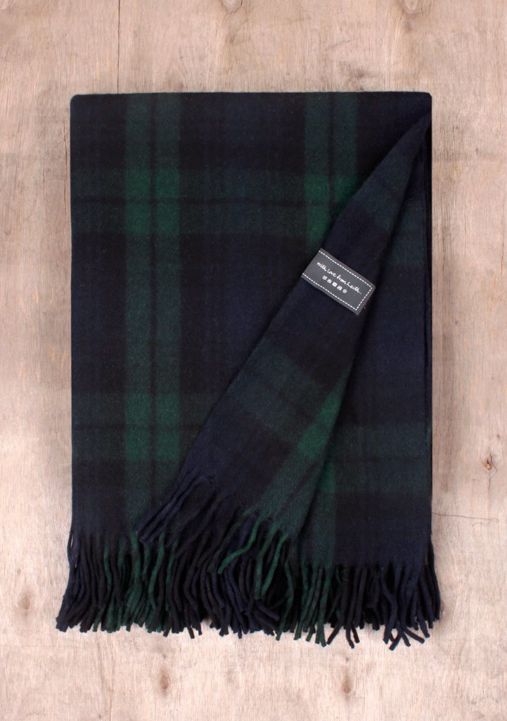Black Watch Tartan Blanket
