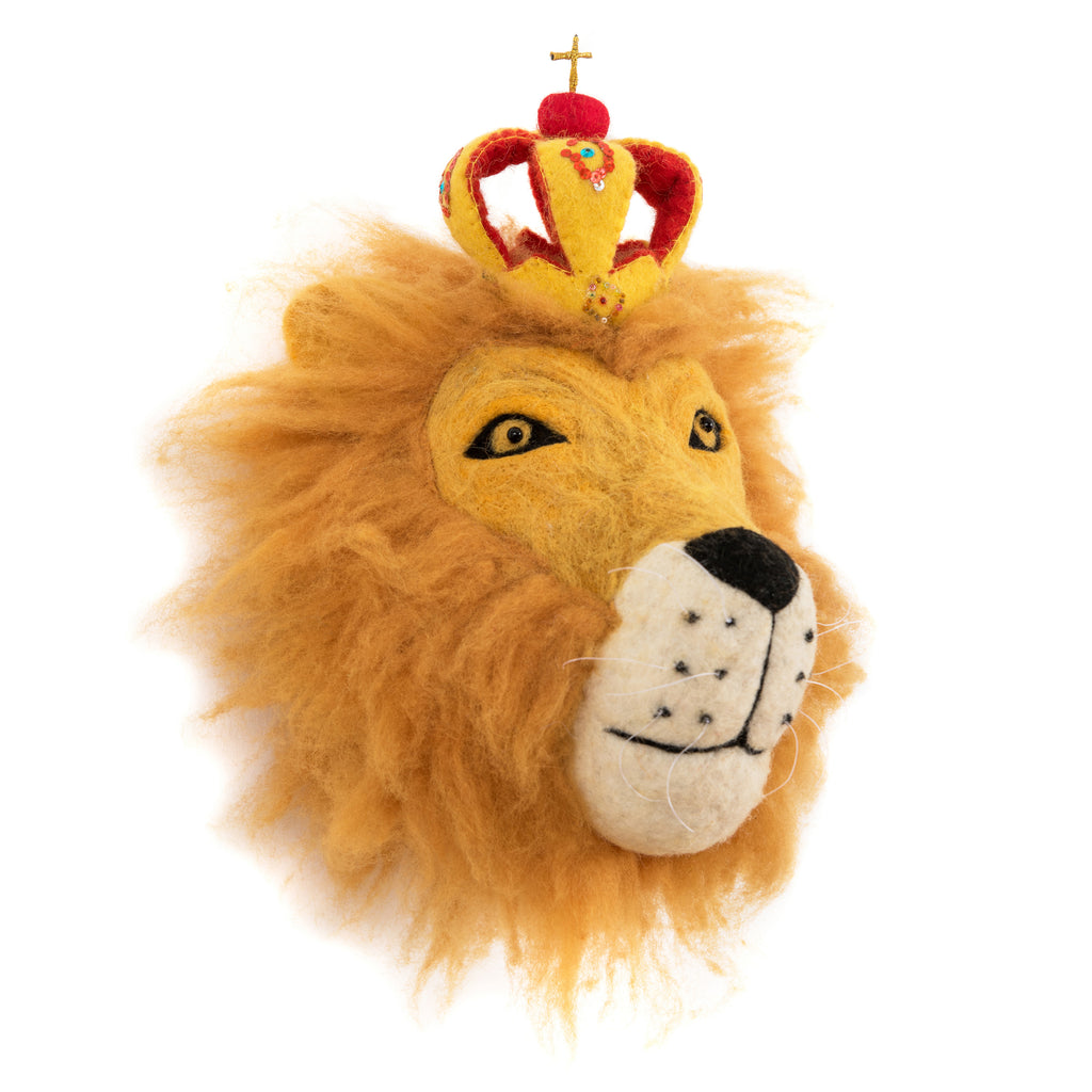 Mounted Lion Head