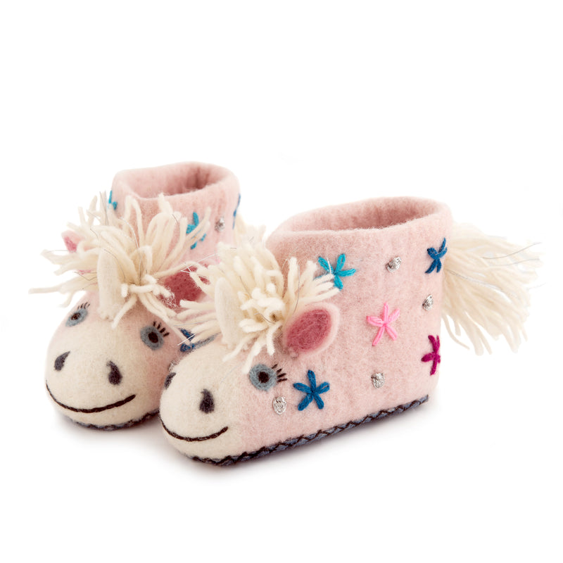 Children's Unicorn Slippers