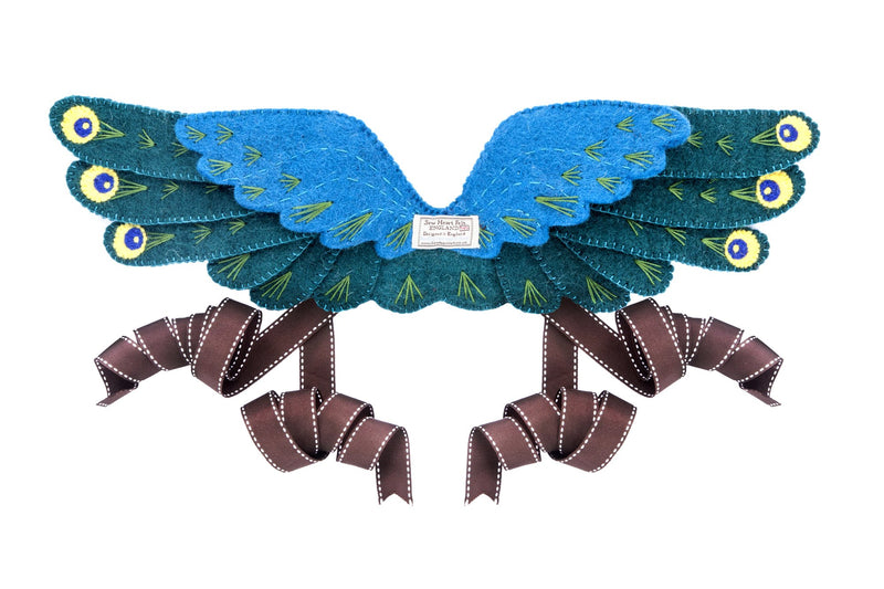 Peacock Headdress and Wings