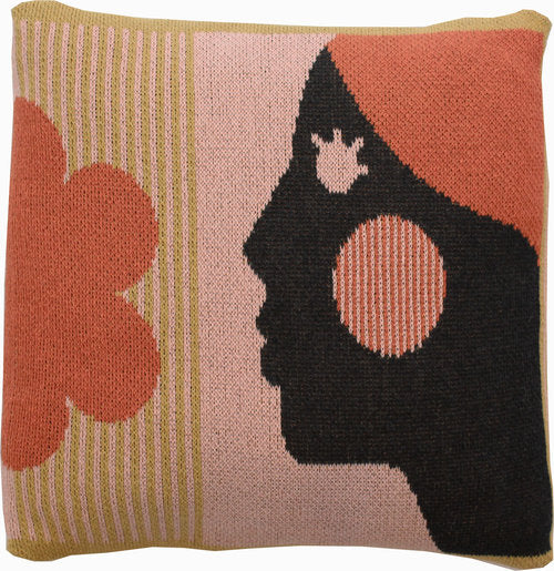 Courageous Woman Cushion Cover