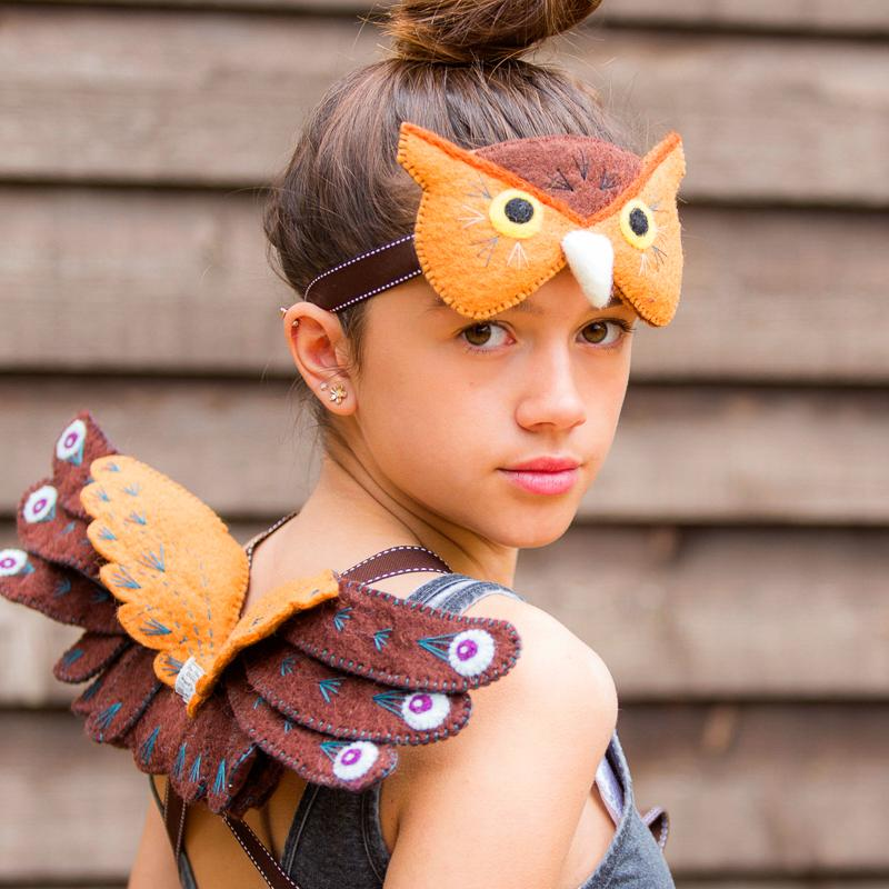 Owl Headdress and Wings