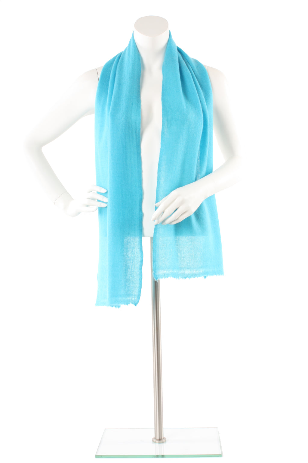 Carolina Blue Cashmere Scarf