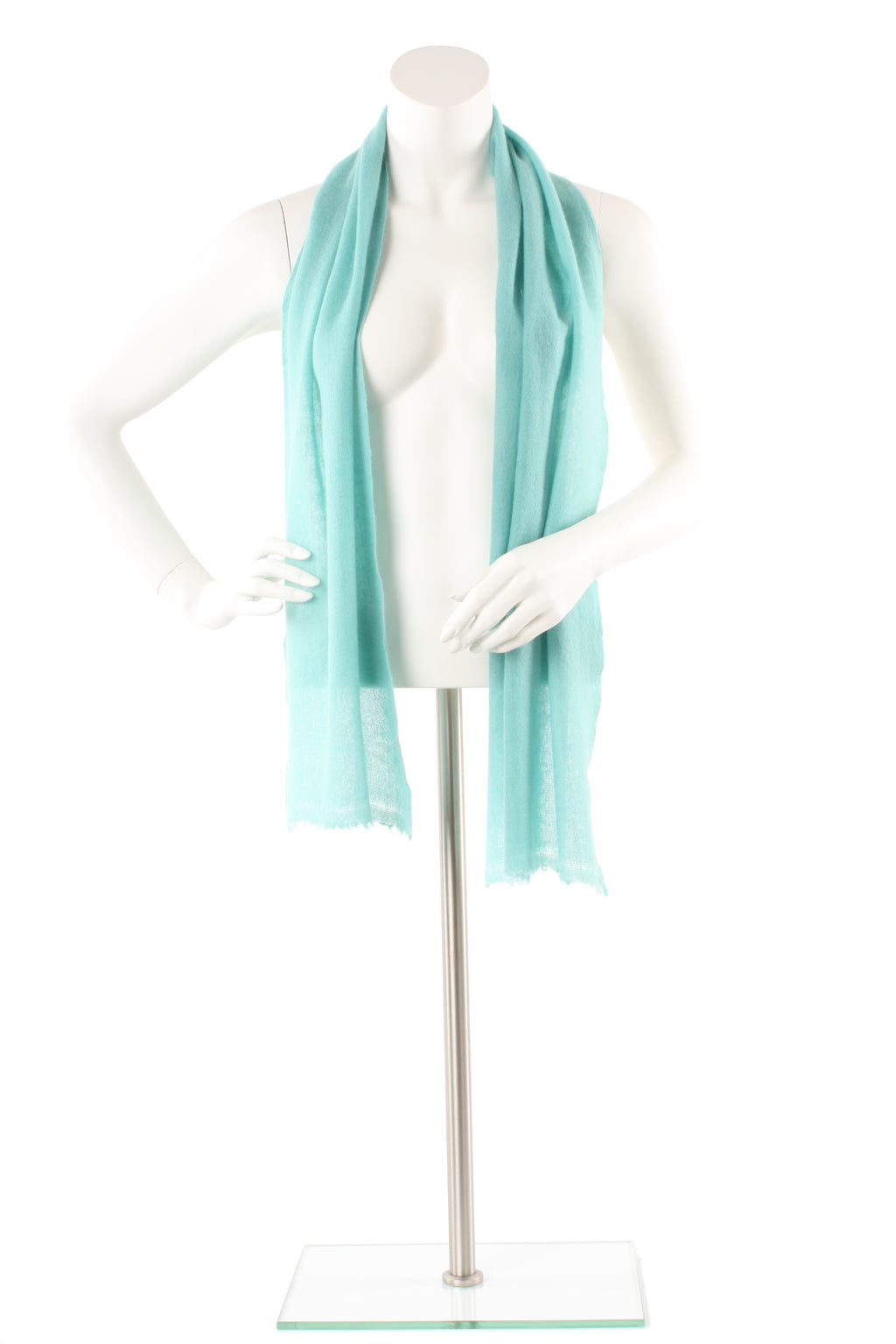 Spruce Green Cashmere Scarf