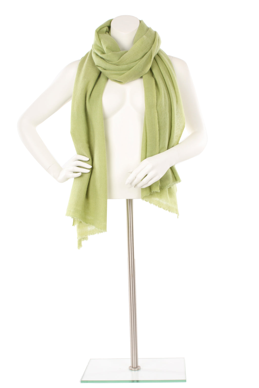 Greenery Cashmere Oversized Scarf