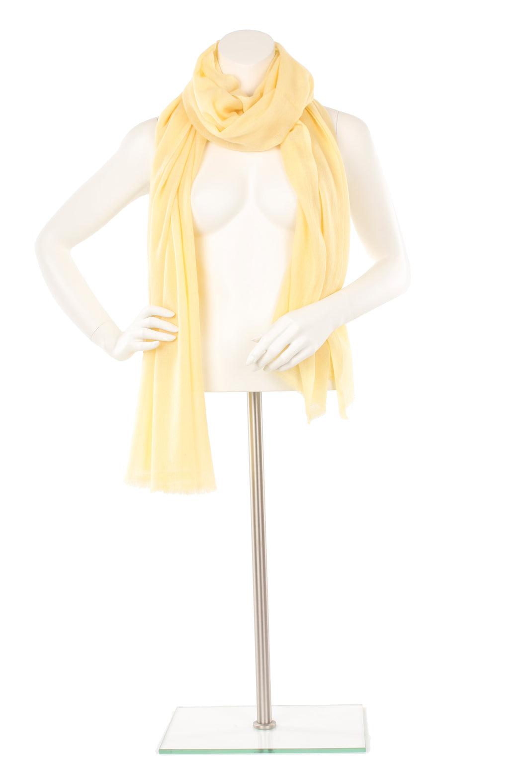 Yellow Finch Cashmere Oversized Scarf
