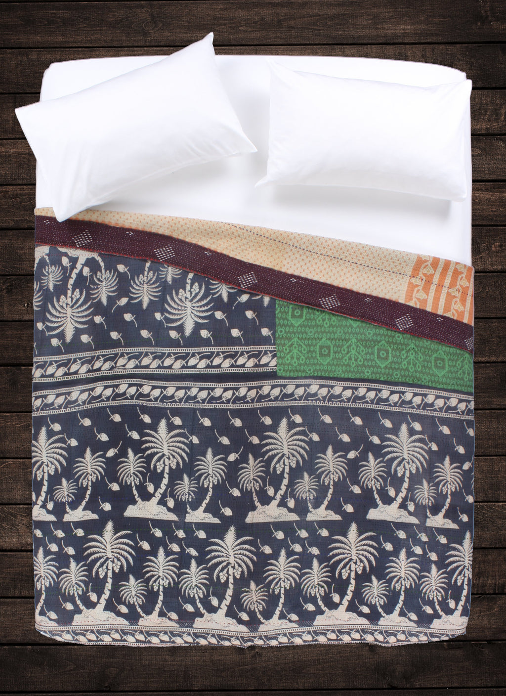 Agatha Kantha Throw
