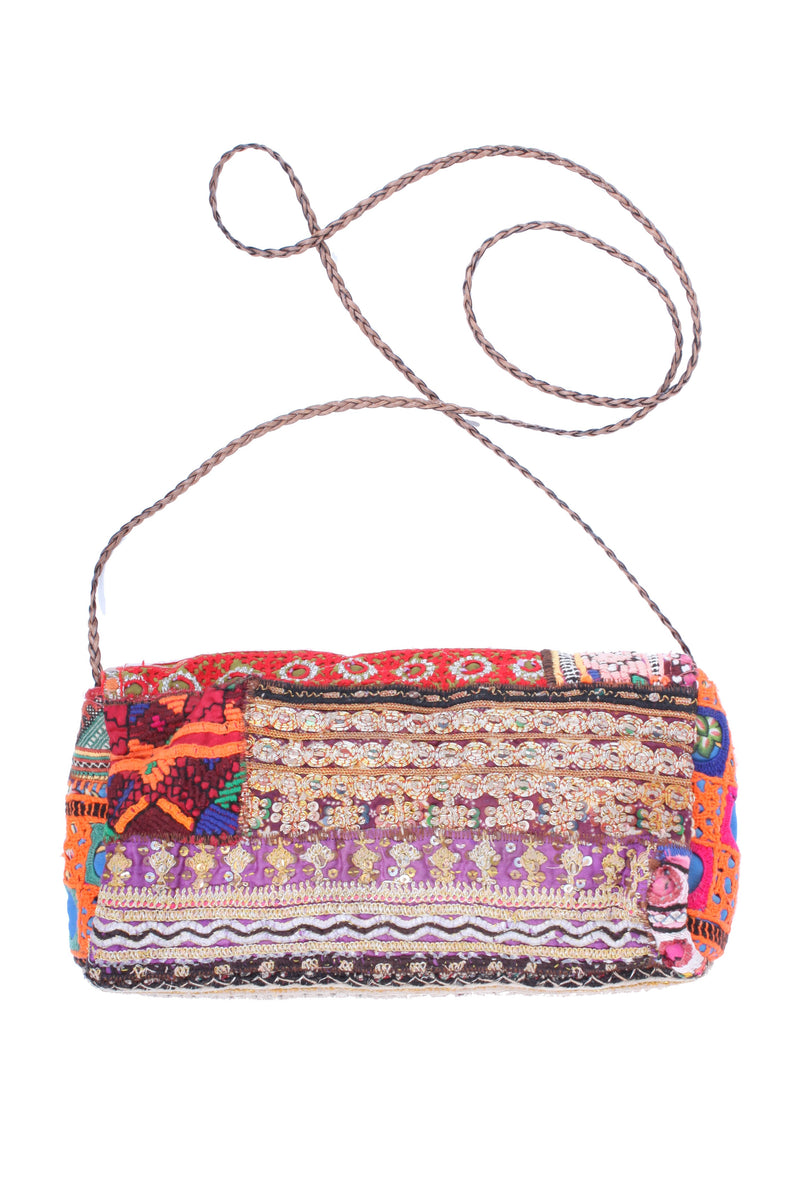 Vintage Embroidered Clutch