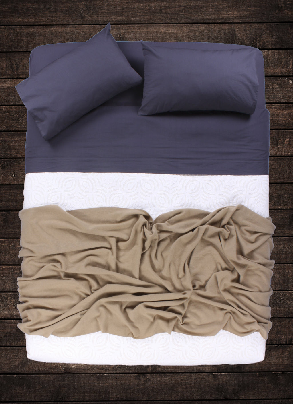 Camel Cashmere Throw