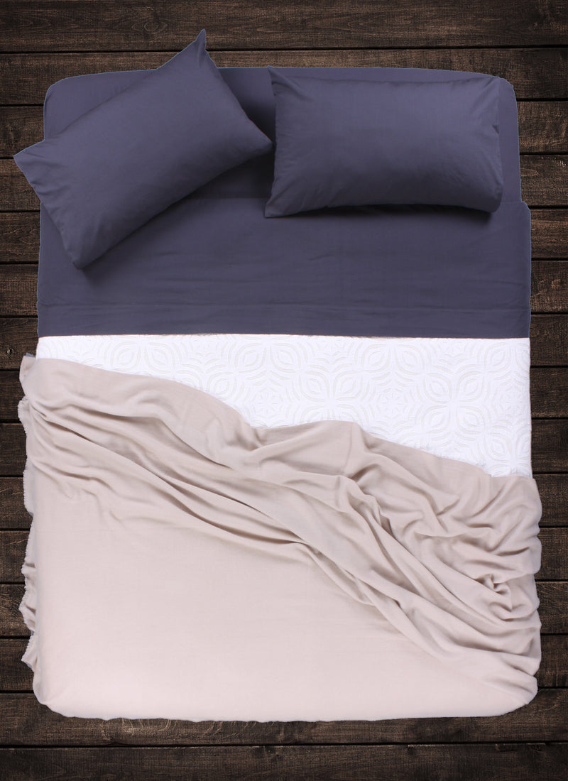 Sand Cashmere Throw