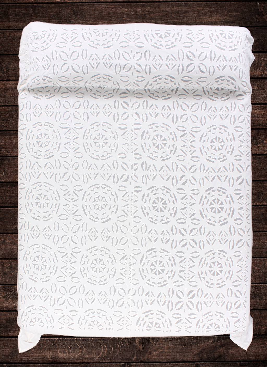 Silan Applique Bedspread