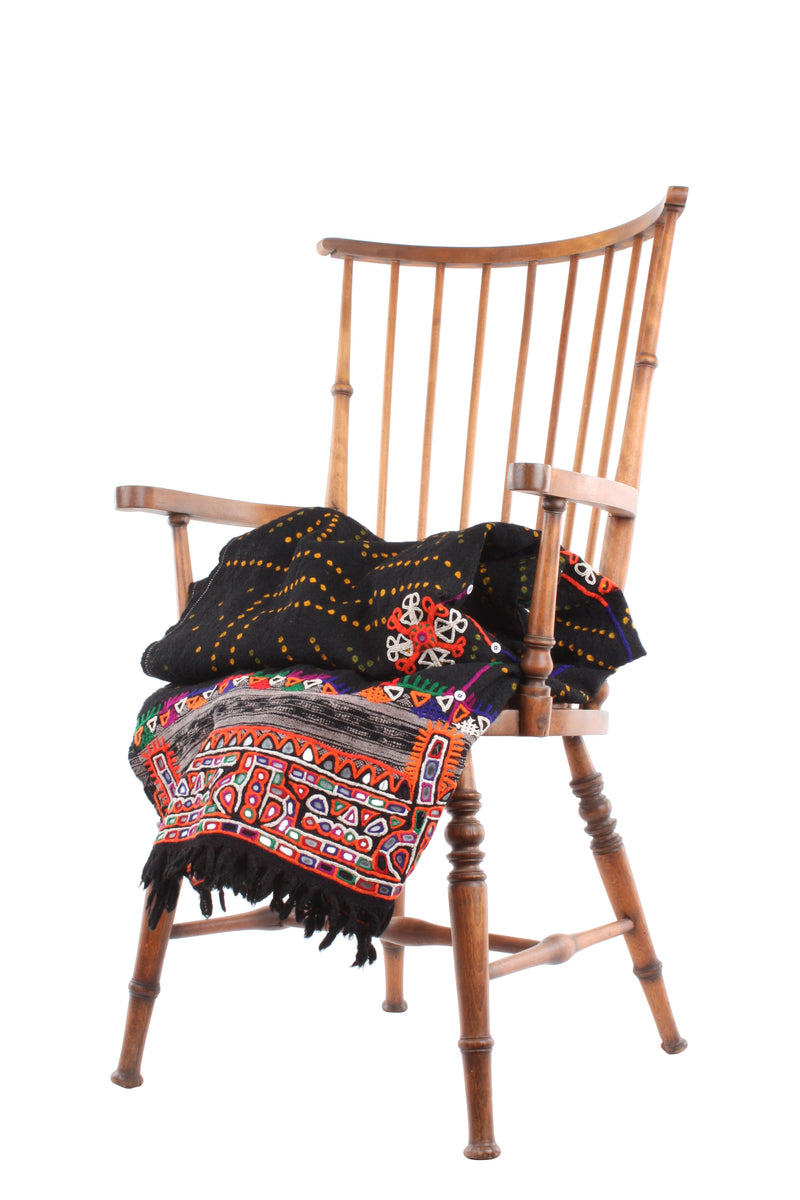 Vintage Banjara Woollen Throw