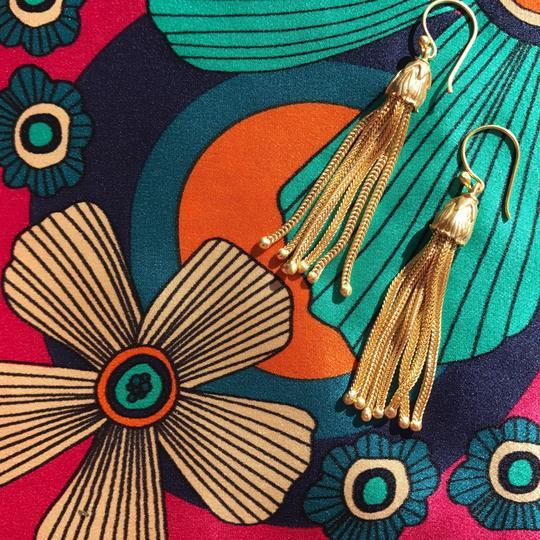 Deco Starlet Tassel Earrings