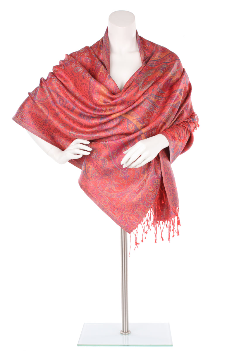Silk Jamavar Wrap
