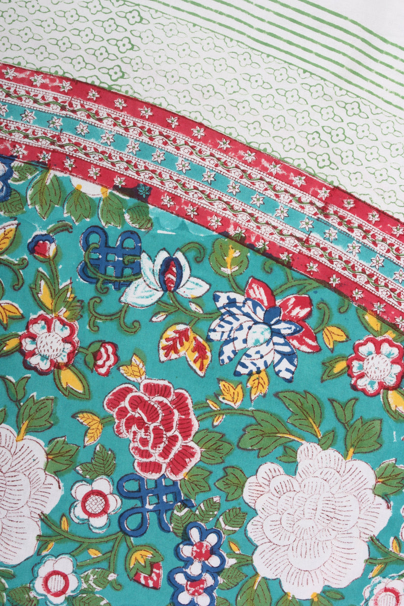 Round Tablecloth - Oriental Floral