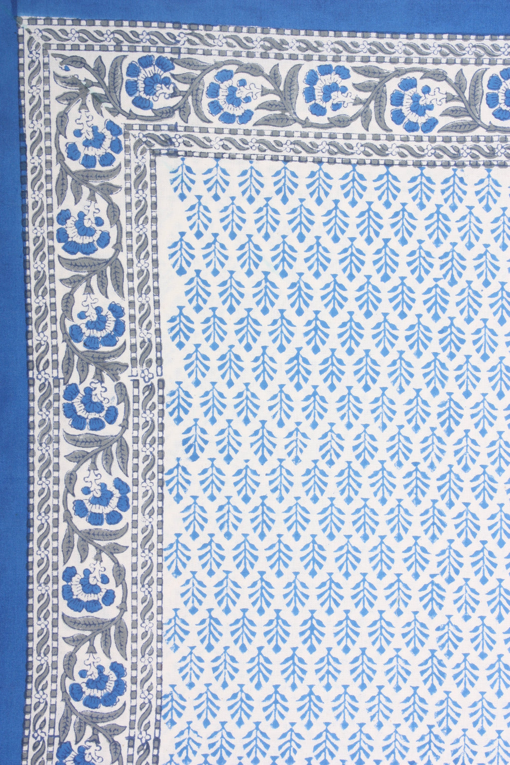 Blue Topiary Tablecloth