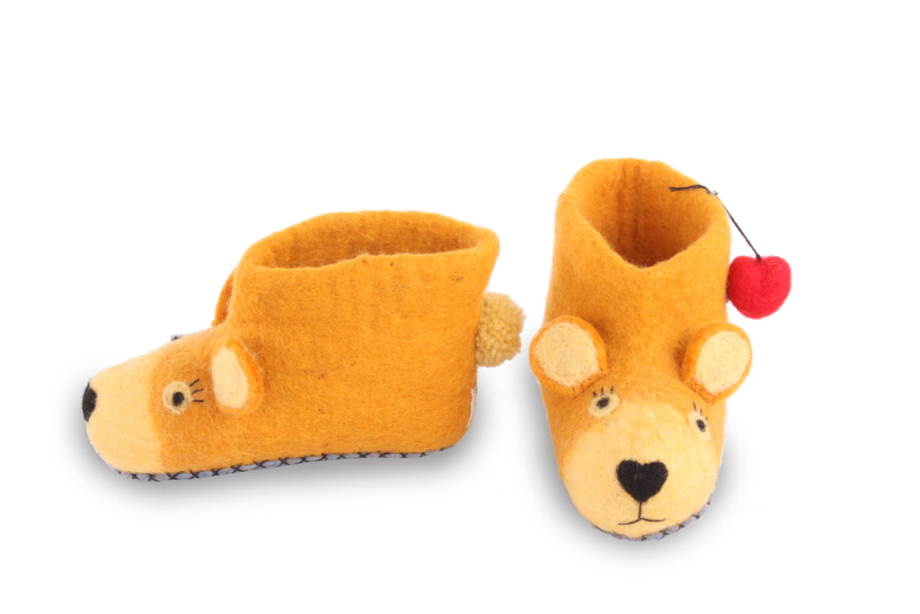 Children's Baby Bear Slippers