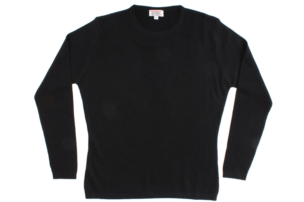 Black Cashmere Jumper