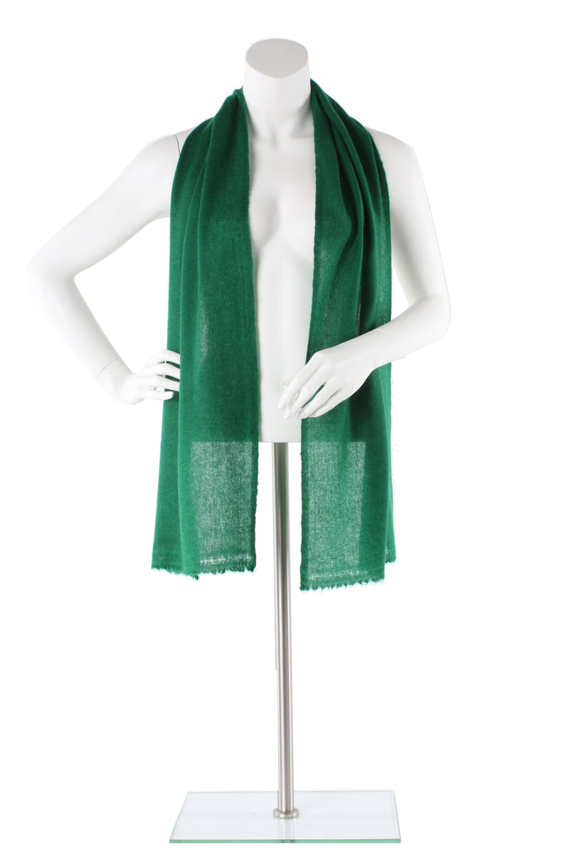 Forest Green Cashmere Scarf