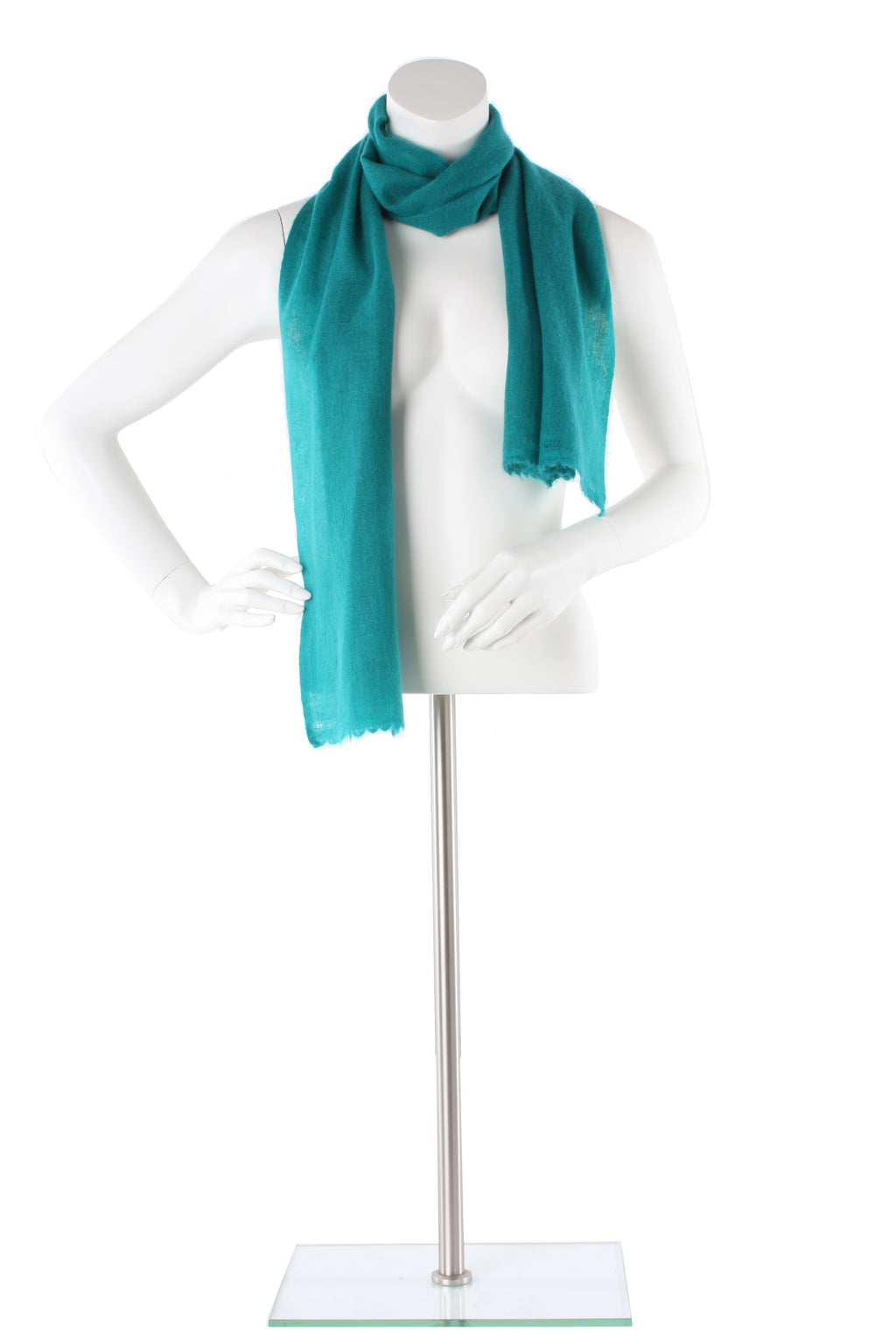 Teal Cashmere Scarf
