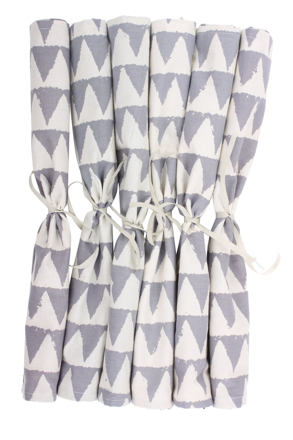 Grey Geo Napkins