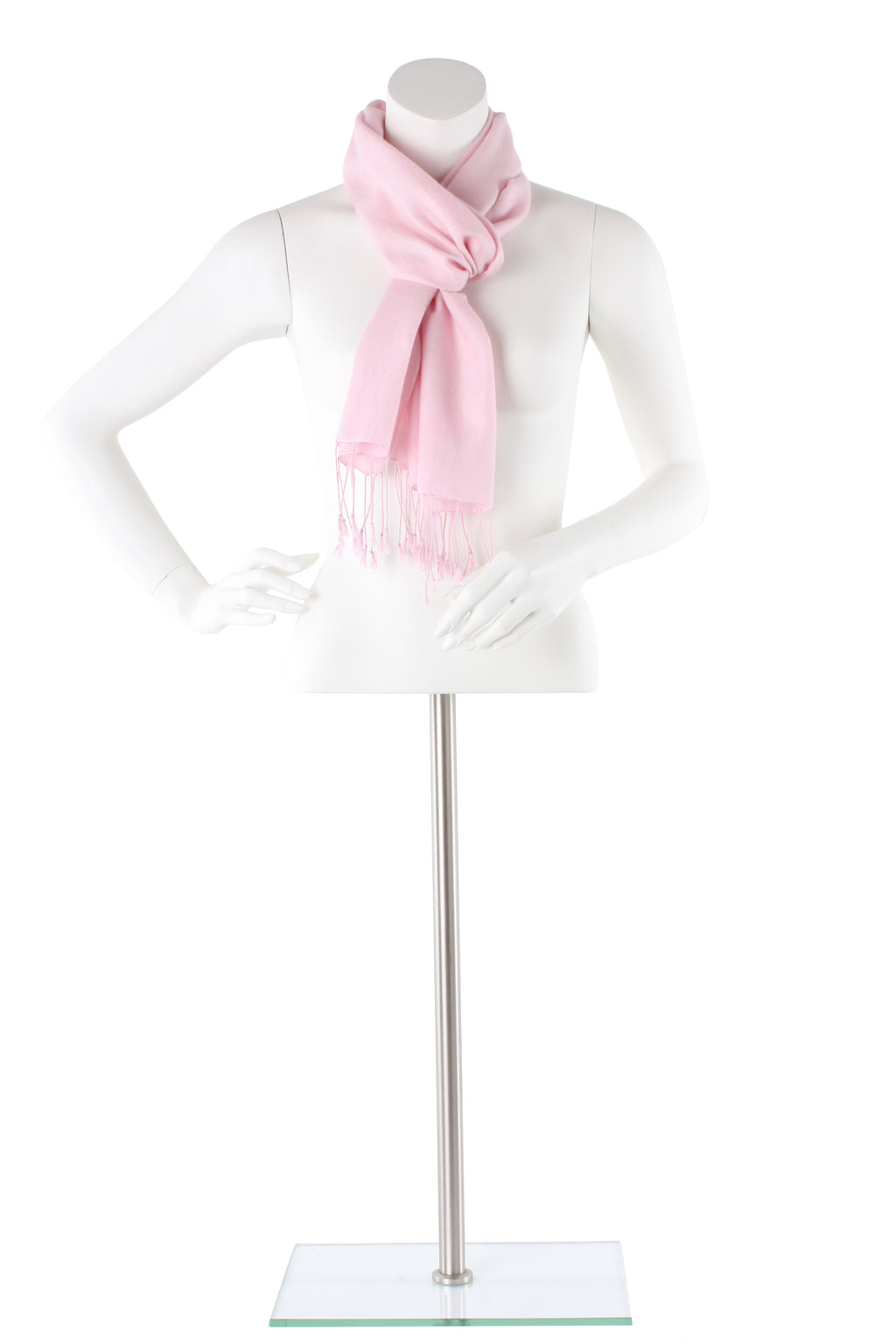 Ballet Slipper Cashmere and Silk Scarf