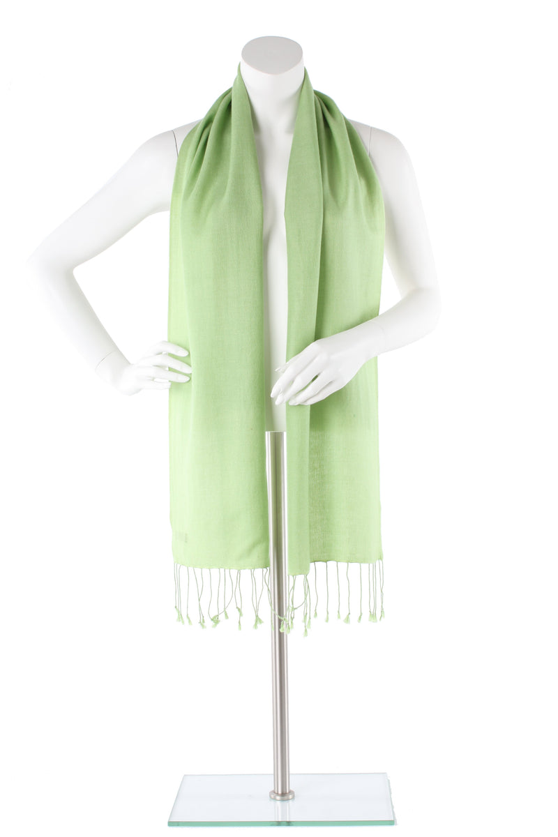 Pear Cashmere and Silk Scarf