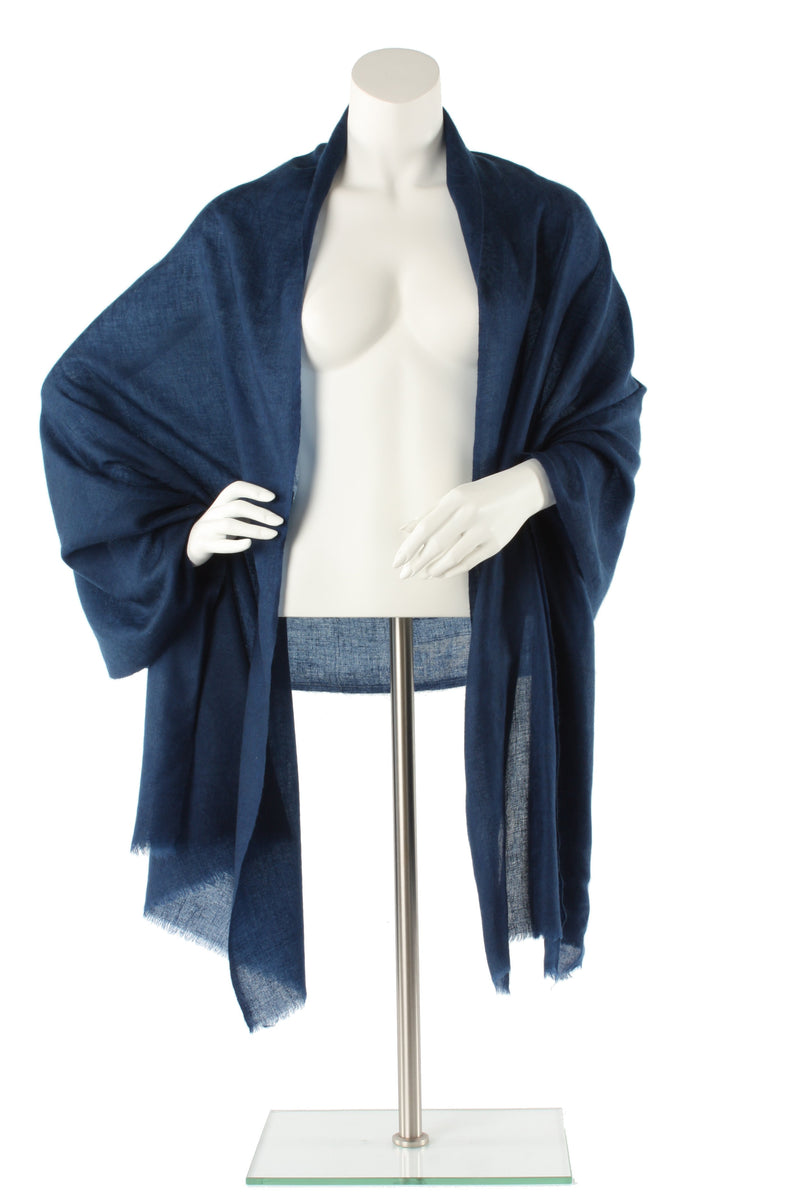 Midnight Luxe Cashmere Oversized Scarf