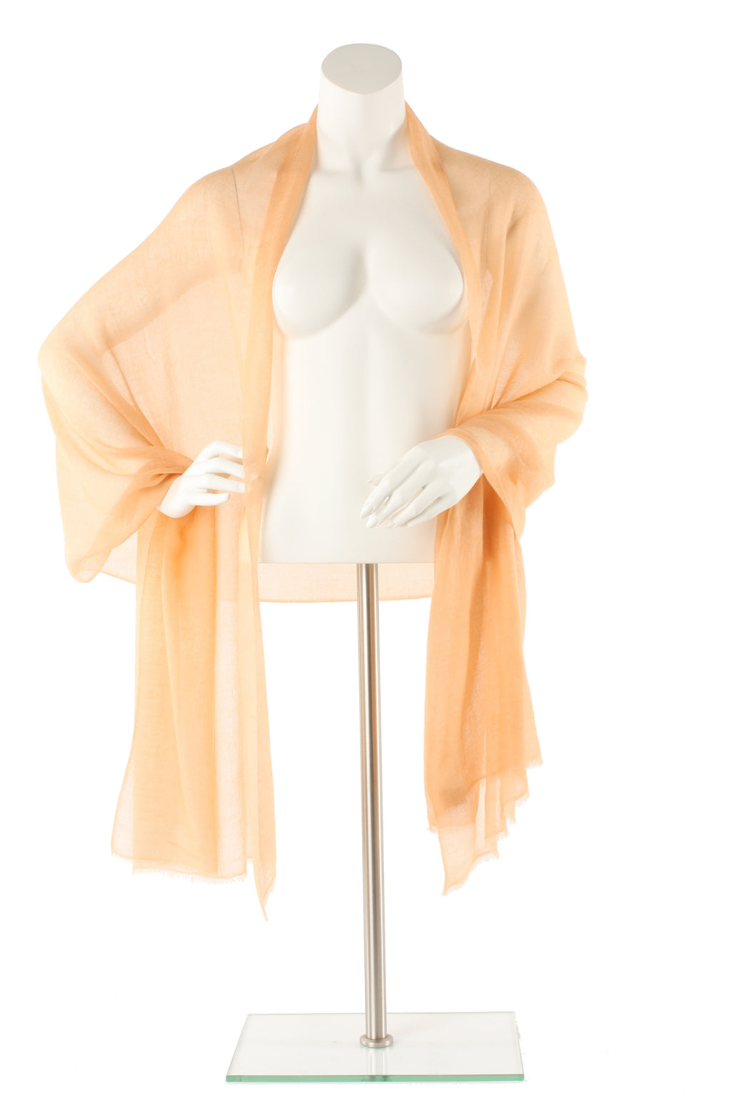 Gold Luxe Cashmere Oversized Scarf