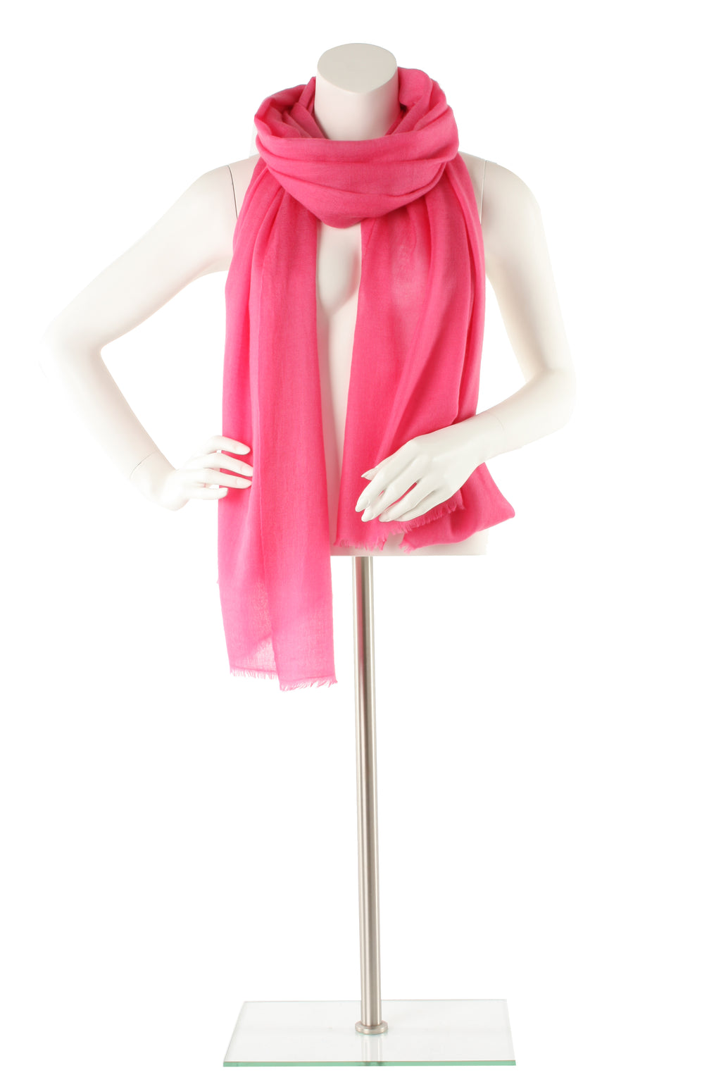 Musk Pink Luxe Cashmere Oversized Scarf